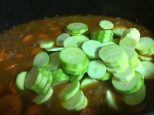 צלי בשר עם ירקות