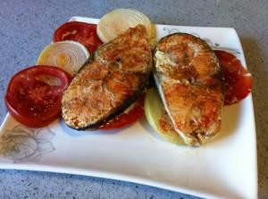דג אפוי בתנור