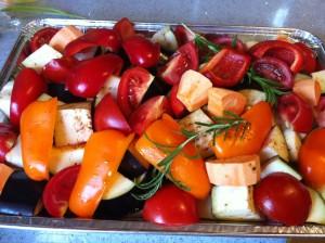 ירקות אפוים