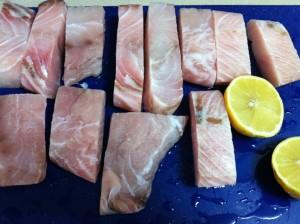 דגים עם ירקות