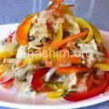 סלט ירקות במרינדה