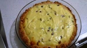עוגת גבינה עם חמוציות