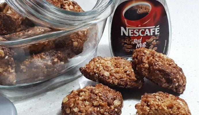 עוגיות קוואקר עם שומשום פרווה