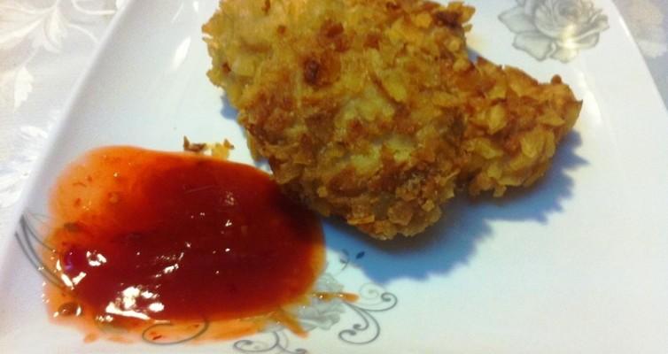 מתכון של שבבי עוף