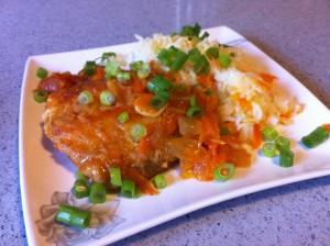 תבשיל דגים ברוטב עגבניות