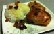ירכי עוף צלויים בבירה בהירה