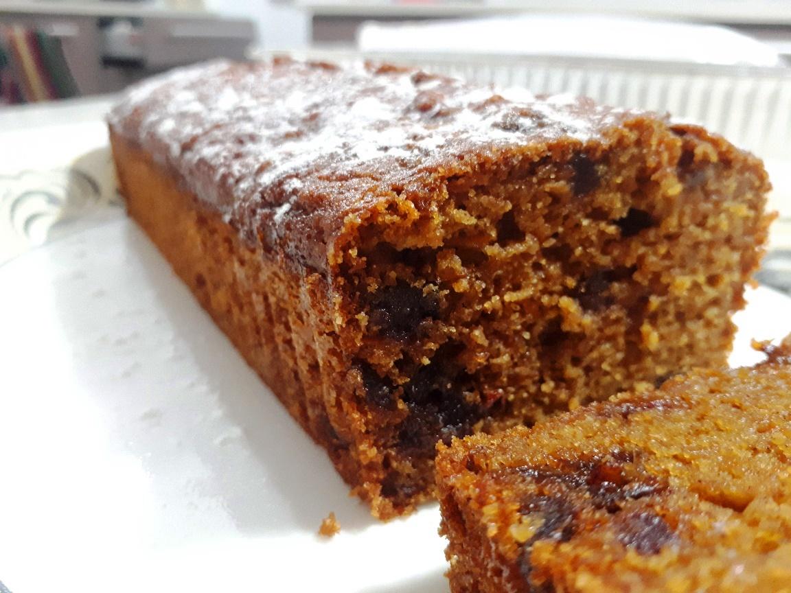 עוגת גזר ותמרים