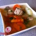 מרק קציצות עם ירקות