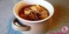 מרק פטריות סמיך עם אטריות אורז