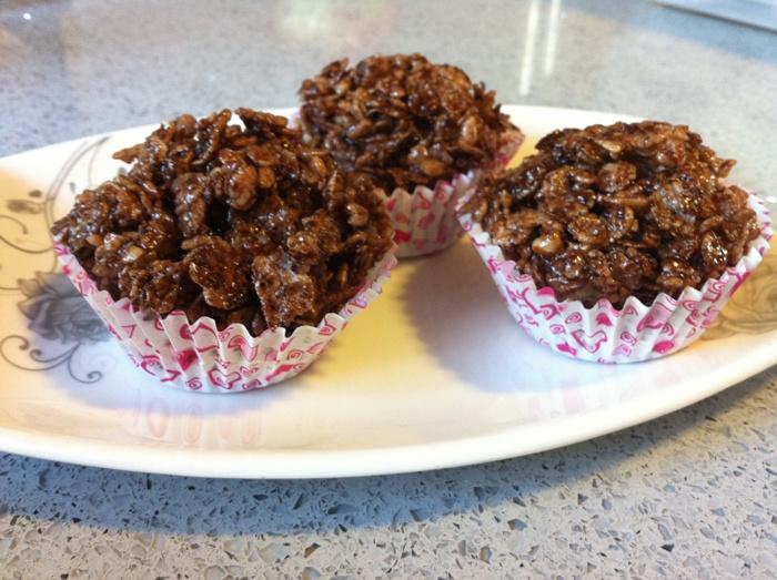 פצפוצי אורז בשוקולד
