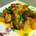 קדרת עוף עם תפוחי אדמה