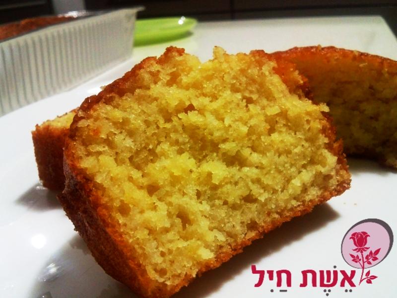 עוגת תפוזים מהירה