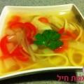 מרק עוף בסגנון סיני